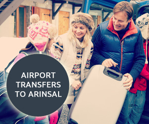 Book Arinsal Airport Transfers