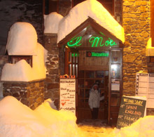 El Moli Bar in Arinsal