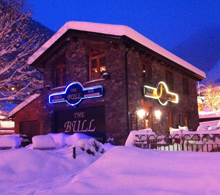 The Bull bar and restaurant in Arinsal
