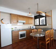 Kitchen in Apartments Caprici