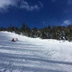 The red slope Coms had great conditions today
