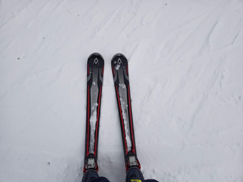 We skied on the Opening Day of Vallnord