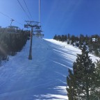 The view from the El Cubil chairlift