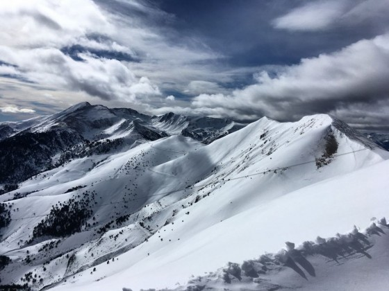 Amazing view from the top of Arinsal