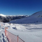 Great day for the snow park....or powder 21/01