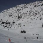Slipping snow