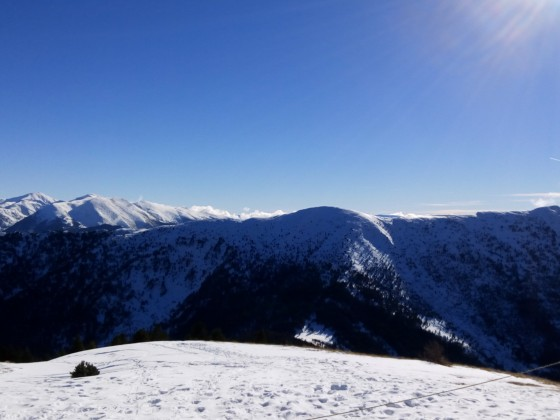 Amazing view from the Gondola Snack Bar in Pal Arinsal