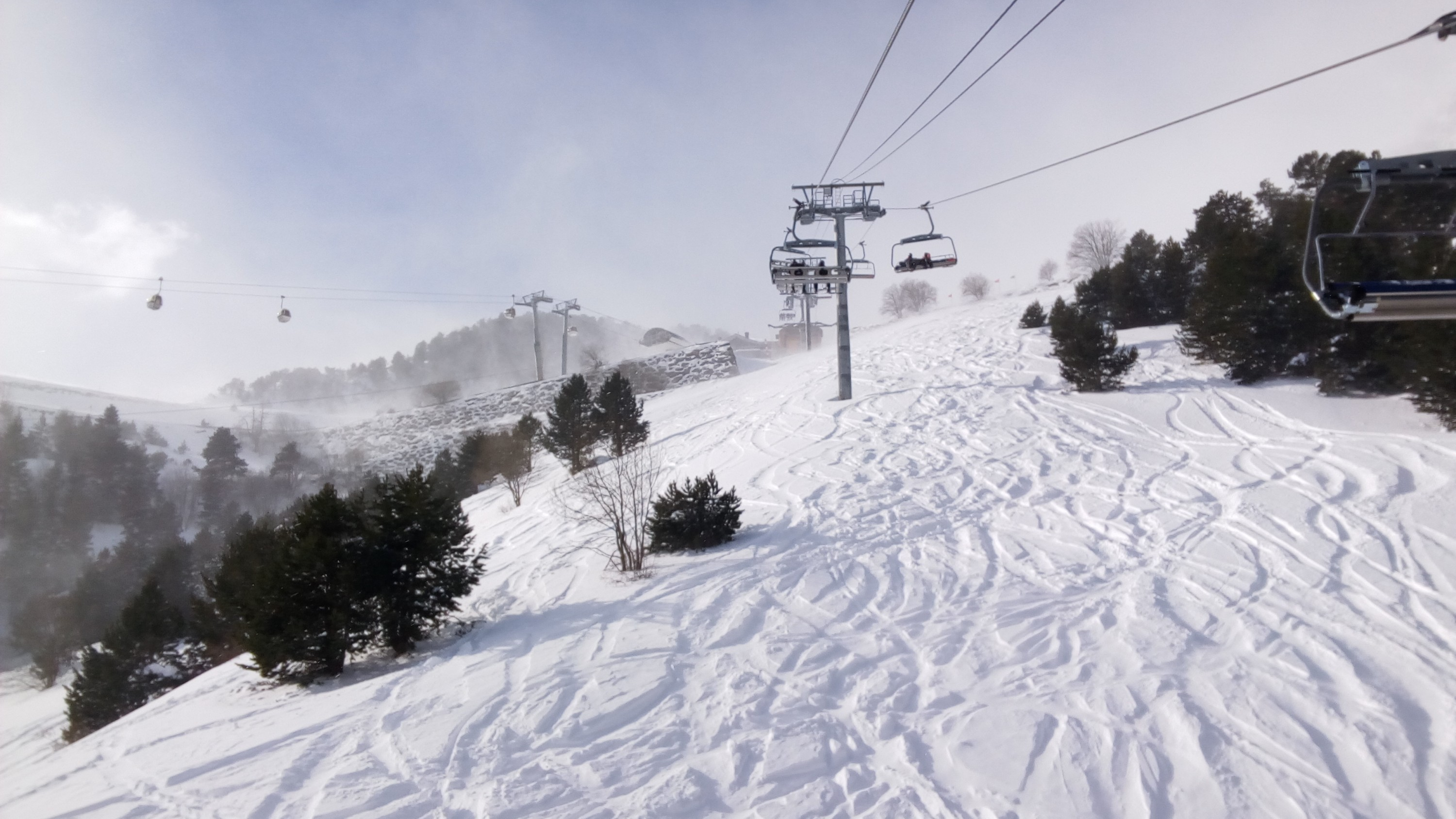 Heading Up On Josep Serra Chairlift - Gallery