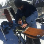 We tried the Arbor snowboards and we loved them!