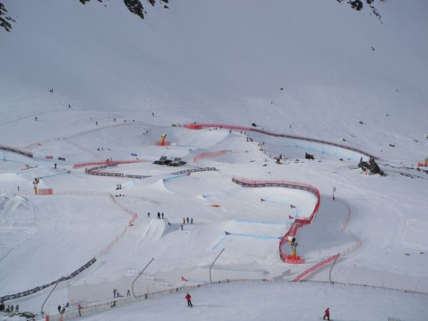 SBX World cup 2014 course