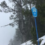 Blue slope La Serra was the run of the day