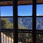 View from restaurant Rustic at the gondola base station
