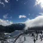 Many skiers came to the slopes of Arinsal after the snowfalls