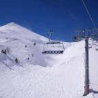 View from the 6 man chair lift - 18/3/2011
