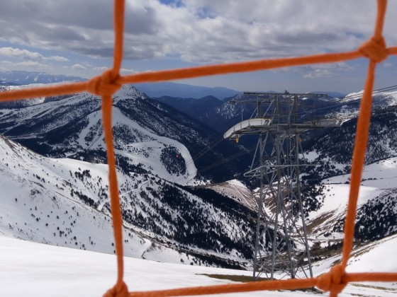 A view of the gondola to Pal