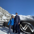 Esther and Steve from the Andorra Resorts team