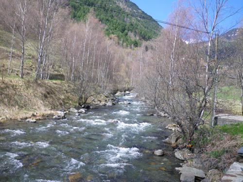 River near Ordino