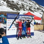 The winners of the Men Junior ISMF Font Blanca 2018