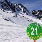The longest green slope in the Pyrinees: La Megaverda