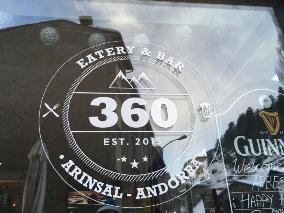 360 logo eatery & bar