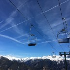 La Serra chairlift, only for two people, one of our favourites!