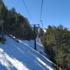La Serra I is the oldest chairlift of Vallnord