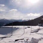 The stunning view from Arinsal lift pass office at the top of the gondola