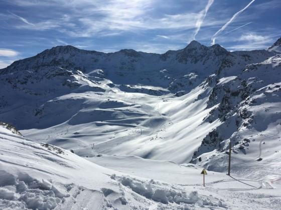 The snow reaches 125cm in the highest areas of Arcalís