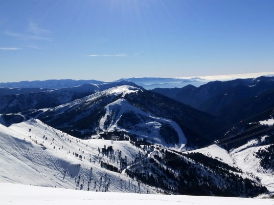 The amazing view of Pal from the top of Arinsal