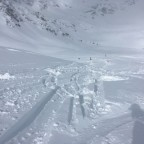 The off-piste next to La Coma had powder everywhere!