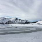 The reservoir for snow cannons in Pal