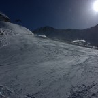 Empty slopes and bright sun today in Arcalís
