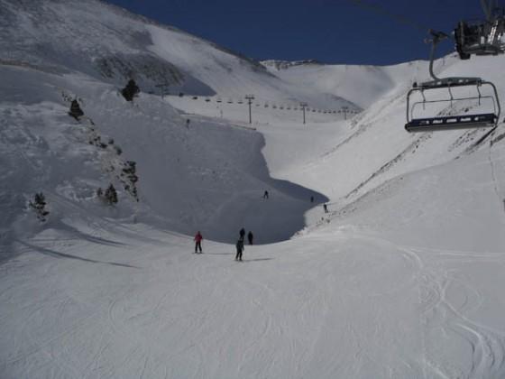 Arinsal slopes 26/02
