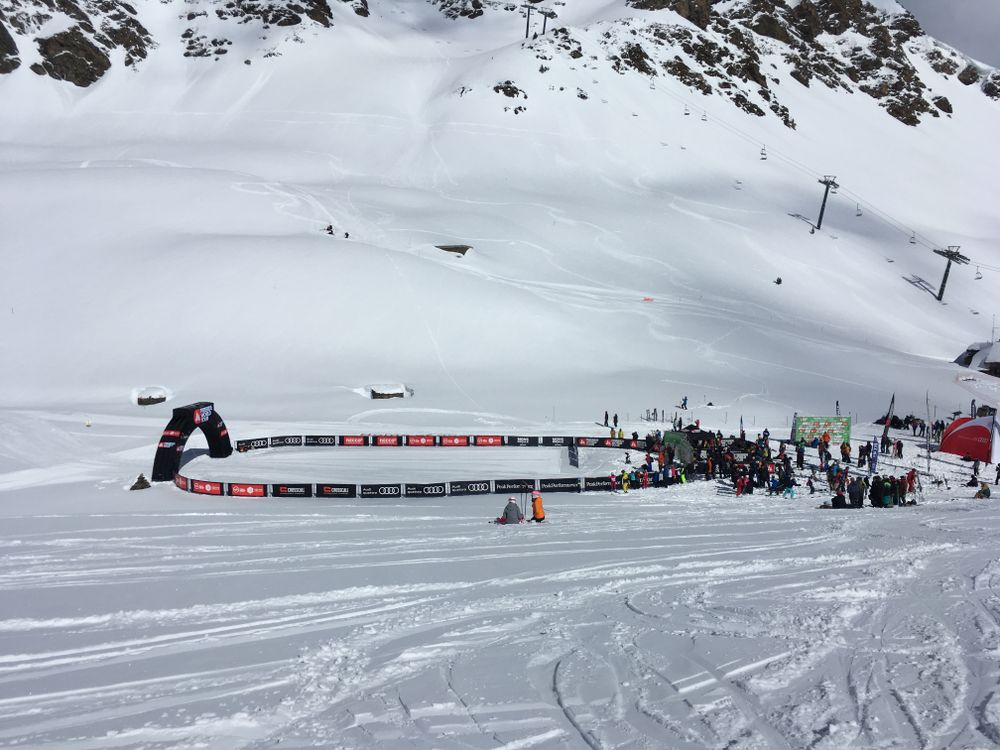 The Freeride World Tour took place in La Basera Negra