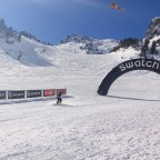 Finish Line of the Swatch Freeride Tour