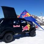 The red bull chill out area for the competition