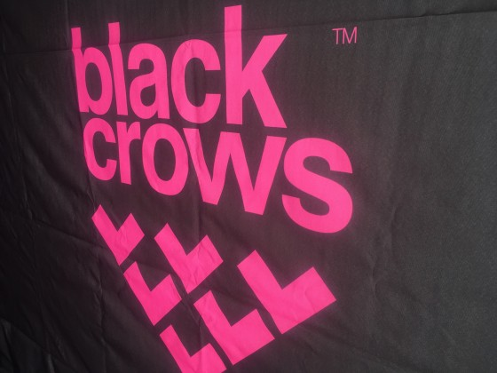 We also tried the Black Crows skis on the Arinsal ski test