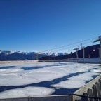 The snow cannons reserve in Arinsal