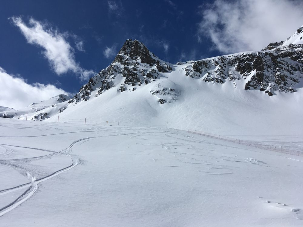 Bluebird days in Arcalis are epic