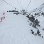 View from Les Fonts chairlift