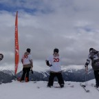 Some riders training for the Smoking Freestyle contest