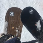 Trying the Arbor snowboards