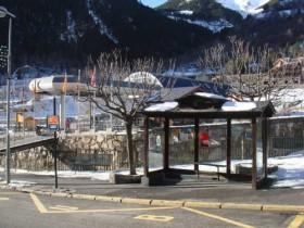 Bus Stop at the Gondola