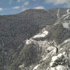 Stunning views from the road of Arinsal