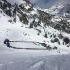 The Freeride World Tour finish line