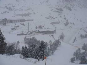 View Across Els Planells Ski Station