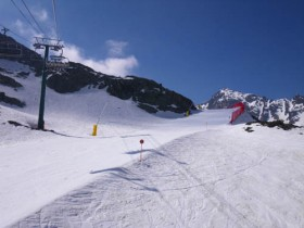 View from La Coma chair lift - 18/4/2011