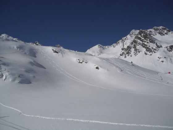 View from La Coma chair lift