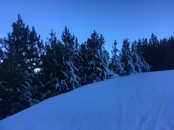 Blue slope El Gall