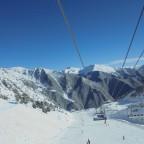 Suncream and skiing in Arinsal